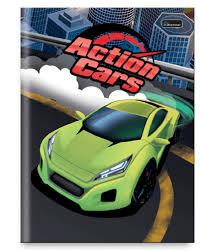 Caderno Brochura Cars Verde