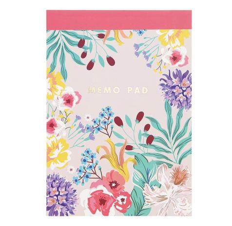 Caderno floral Memo Pad - UP4YOU