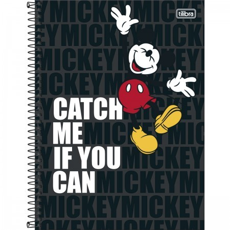 Caderno Mickey Light Universitário 10 Matérias- TILIBRA