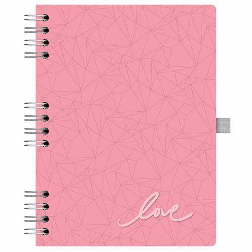 Caderno Papertalk Ótima Pink -Pautado