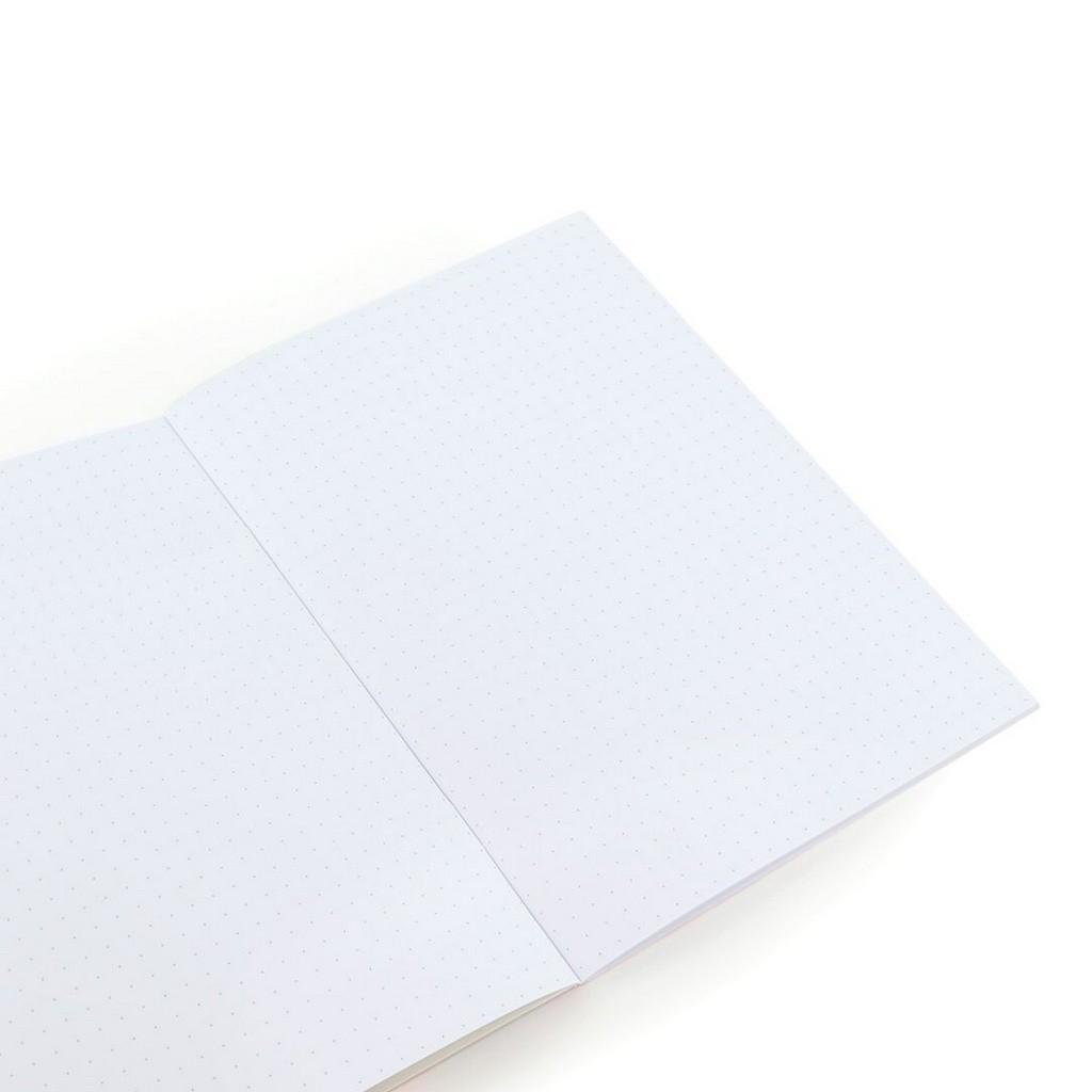 Caderno Pontilhado Preguiça