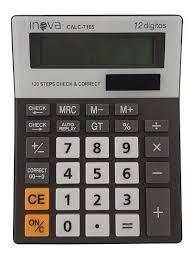 Calculadora Eletrônica Inova 12 Dígitos -