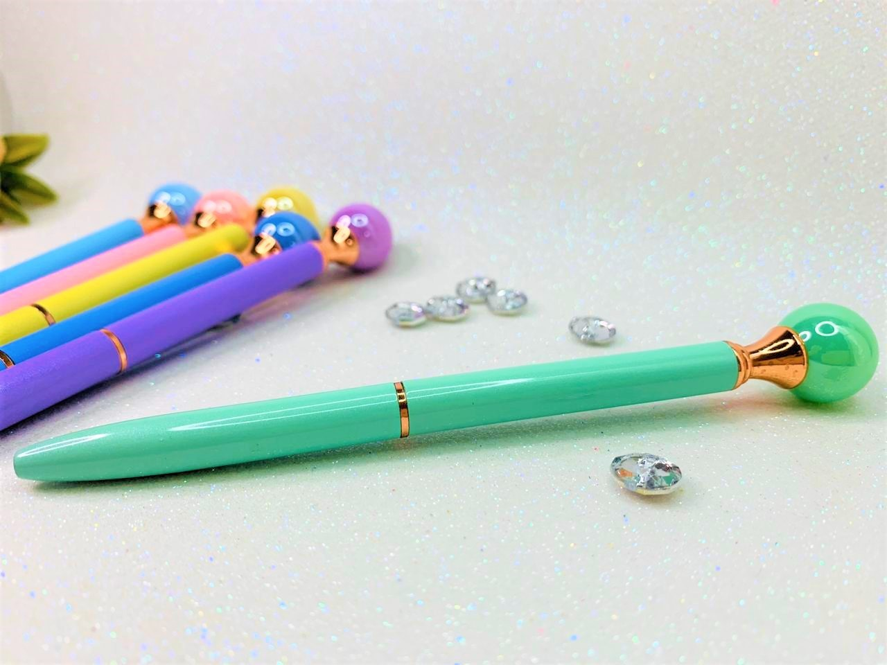 Caneta Luxo Perola Colors
