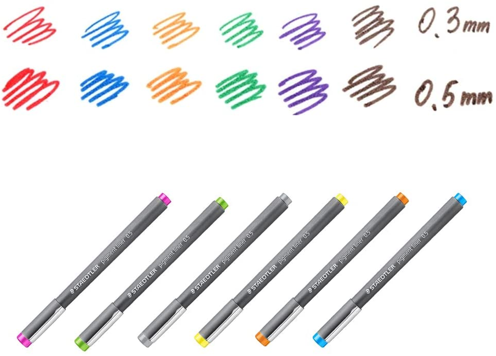 Caneta Pigment Liner 0.5 - Staedtler