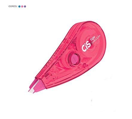 Corretivo Em Fita Tape Neon -Cis ROSA NEON