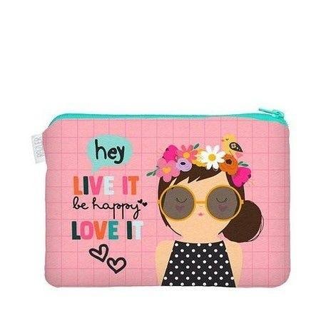 Estojo Happy Menina P