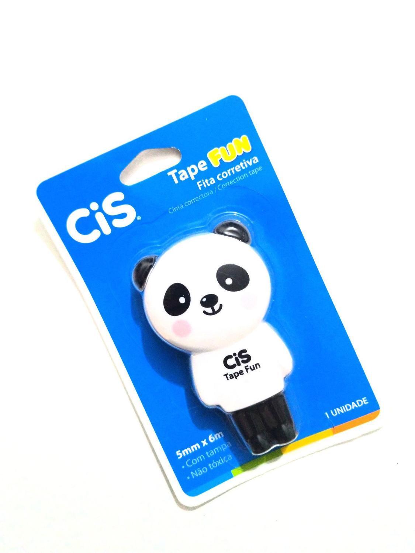 Fita Corretiva Animais Tape Fun - Cis PANDA