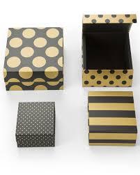 Kit Caixa Preta Gold Quadrada