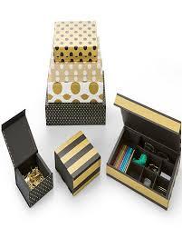 Kit Caixa Preta Gold Retangular