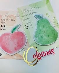 Notas Adesivas Frutas