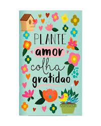Planner Mensal Plante Amor