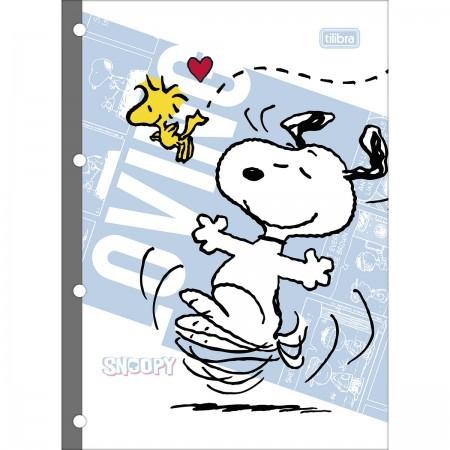 Refil Tiliflex para Caderno Argolado Universitário Snoopy