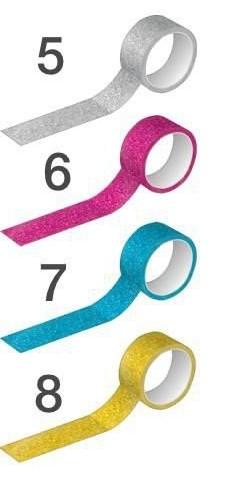 Washi Tape Glitter 15mmx10m