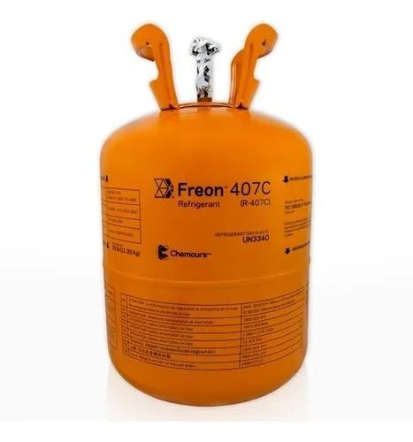 BOTIJA GAS REFRIGERANTE R407C (11,35KG) DUPONT