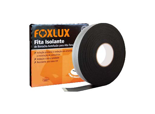FITA ISOLANTE AUTO FUSAO 19MM X 10M FOXLUX 10.53