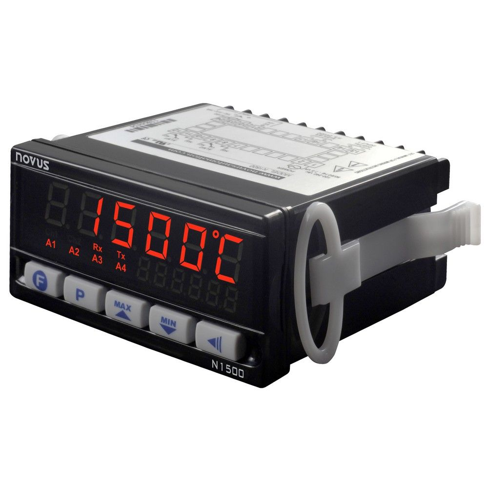 INDICADOR DIGITAL UNIVERSAL NOVUS N1500 RT 100 A 240VCA