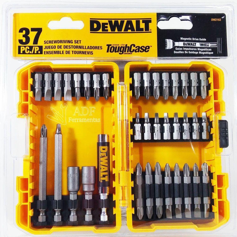 JG DE BITS 37 PECAS DEWALT DW2163