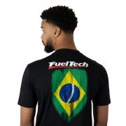 CAMISETA FLAG SHIRT BRASIL UNISSEX FUELTECH