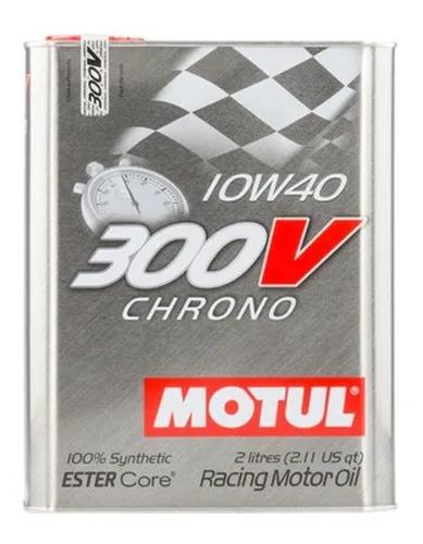 Óleo Motor 300v Chrono 10w40  Motul 2L