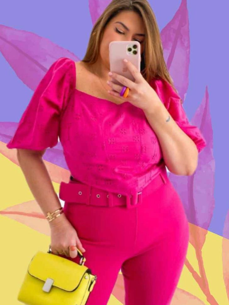 CROPPED LASIE PLUS SIZE