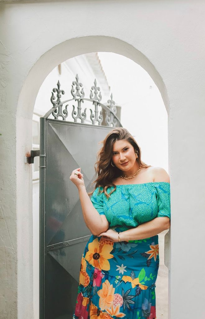 CROPPED OMBRO BRUNA REGO COLLECTION PLUS SIZE