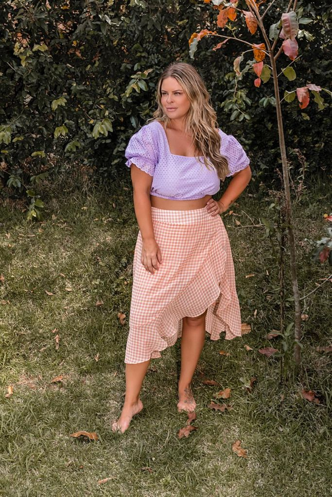 CROPPED PLUS SIZE LASIE
