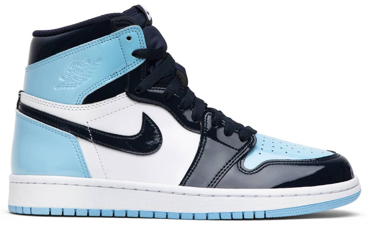 Tênis Air Jordan 1 Retro High OG Blue Chill