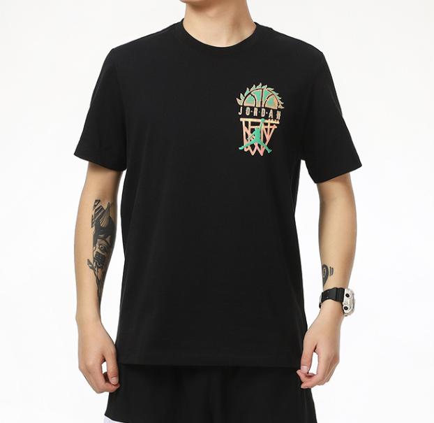Camiseta Jordan Brand as M J Sprt Dna SS Crew Black