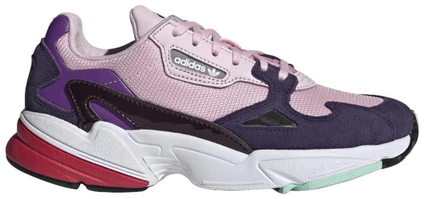 Tênis Adidas Falcon Clear Pink Purple