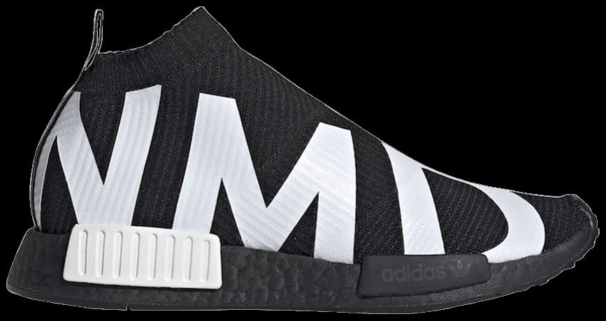 Tênis Adidas NMD_CS1 Primeknit NMD Print - Black