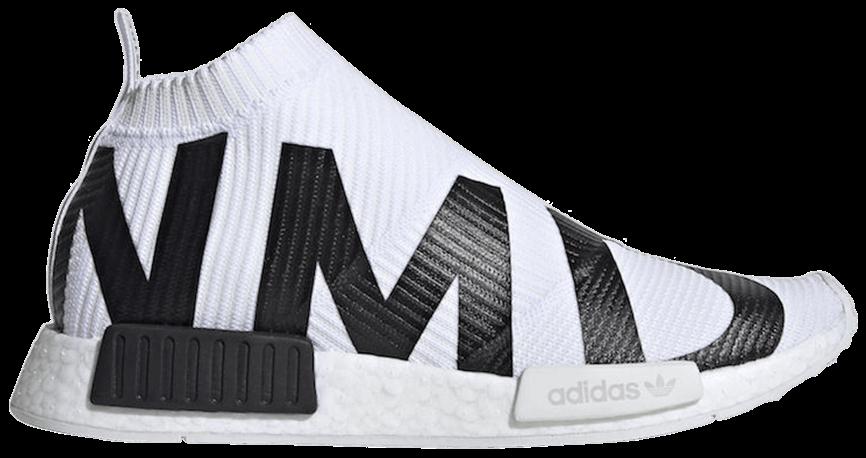 Tênis Adidas NMD_CS1 Primeknit NMD Print - White