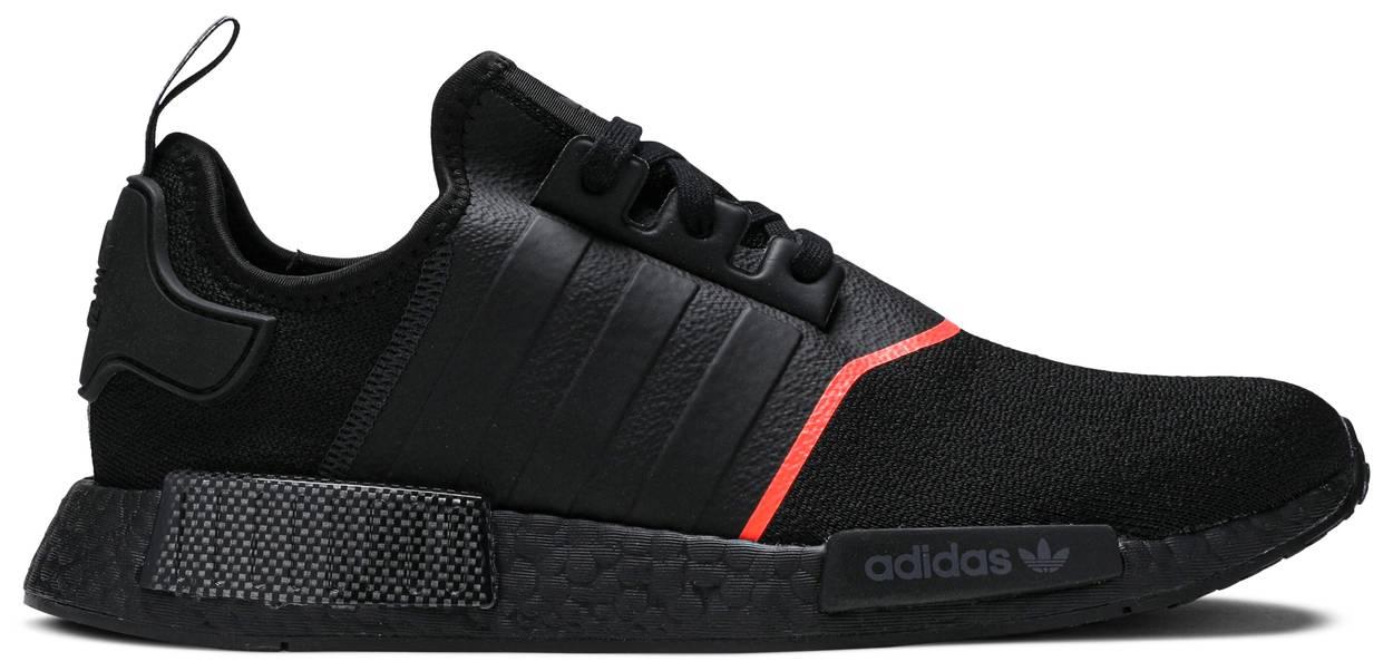 Tênis Adidas NMD_R1 Core Black Solar