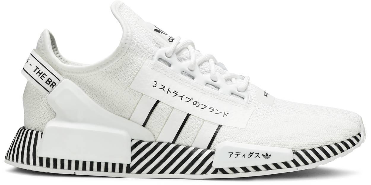 Tênis Adidas NMD_R1 V2 Dazzle Pack - Cloud White
