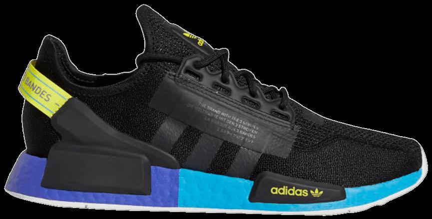 Tênis Adidas NMD_R1 V2 Carbon Shock Yellow