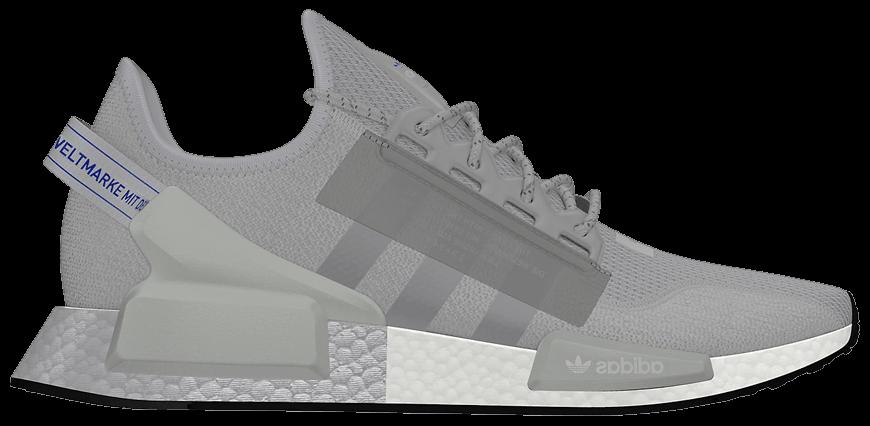 Tênis Adidas NMD_R1 V2 Silver Boost