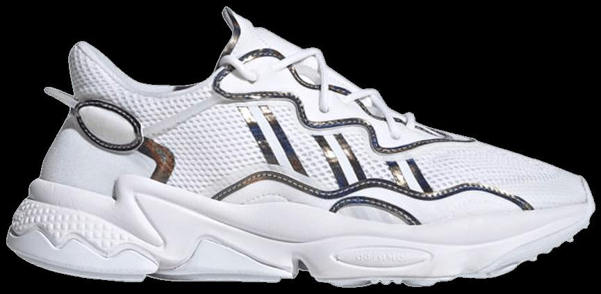 Tênis Adidas Ozweego White Iridescent