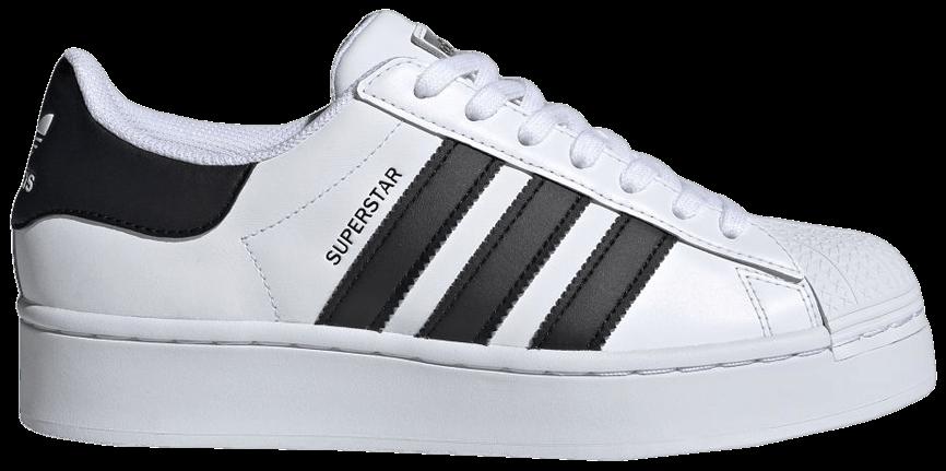 Tênis Adidas Superstar Bold White Black