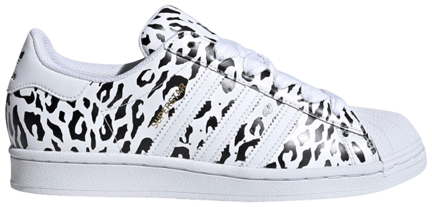 Tênis Adidas Superstar Cheetah Print