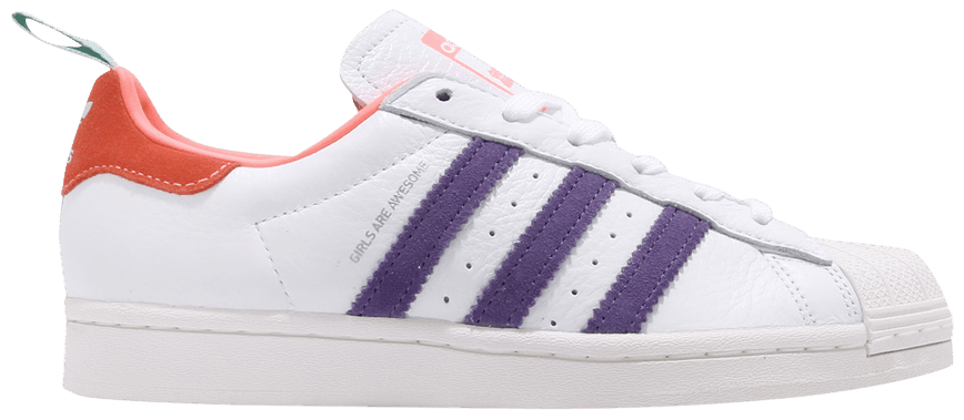 Tênis Adidas Superstar Girls Are Awesome