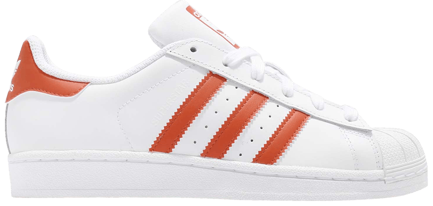 Tênis Adidas Superstar Orange