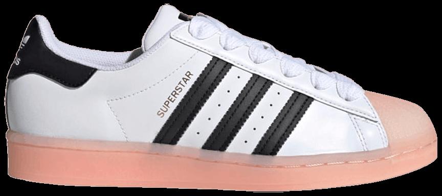Tênis Adidas Superstar Rubber Shelltoe - Coral