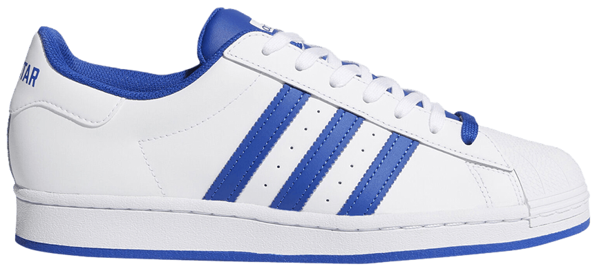 Tênis Adidas Superstar vs. Fórum Bold Blue