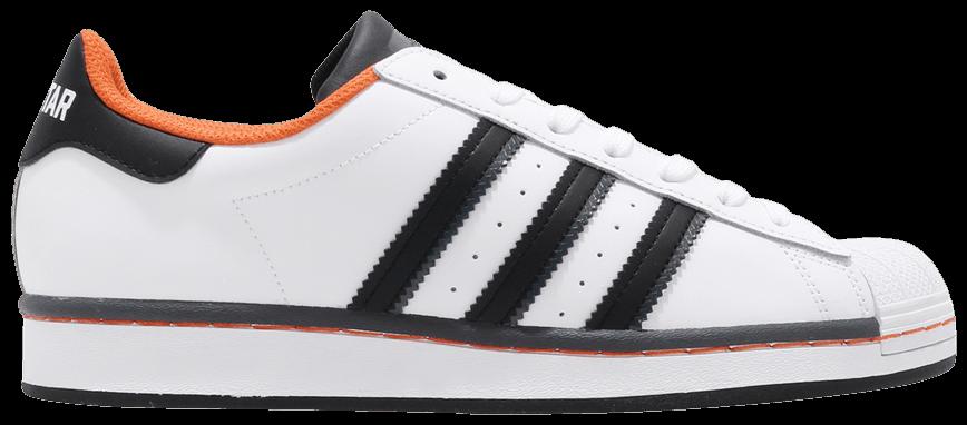 Tênis Adidas Superstar vs. Streetball Orange