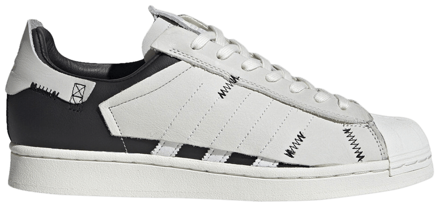 Tênis Adidas Superstar WS1 Deconstructed White Stripes