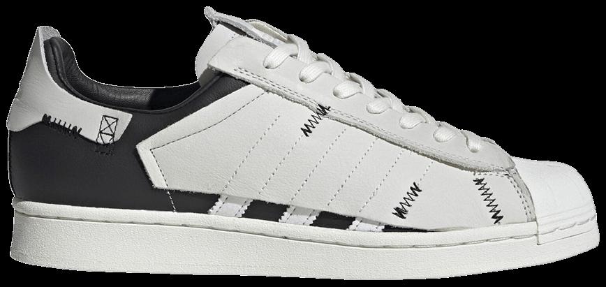 Tênis Adidas Superstar WS1 Deconstructed White Stripes
