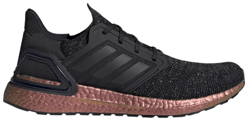 Tênis Adidas UltraBoost 20 Black Signal Pink