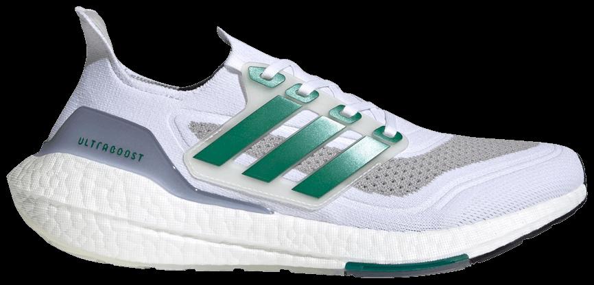 Tênis Adidas Ultraboost 21 White Sub Green