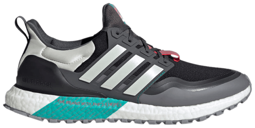 Tênis Adidas UltraBoost All Terrain Black Hi-Res Aqua