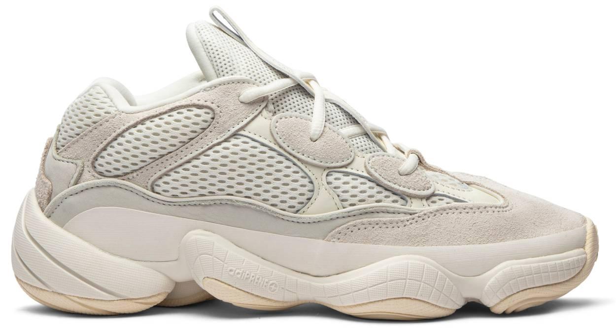 Tênis Adidas Yeezy 500 Bone White