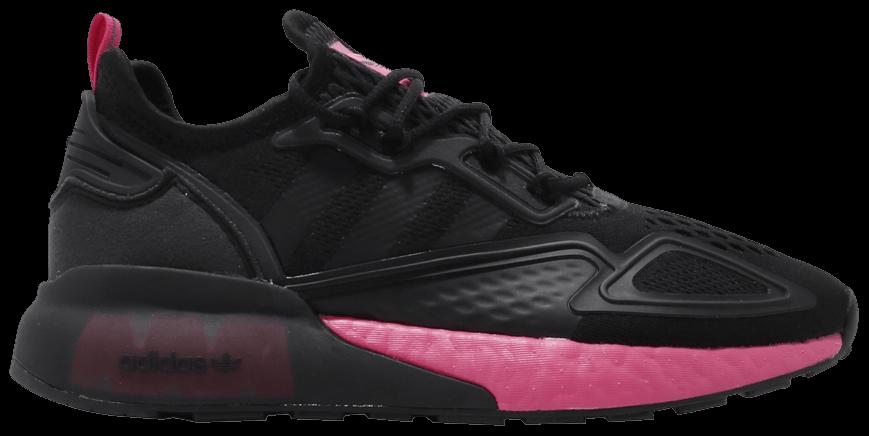 Tênis Adidas ZX 2K Boost Black Shock Pink